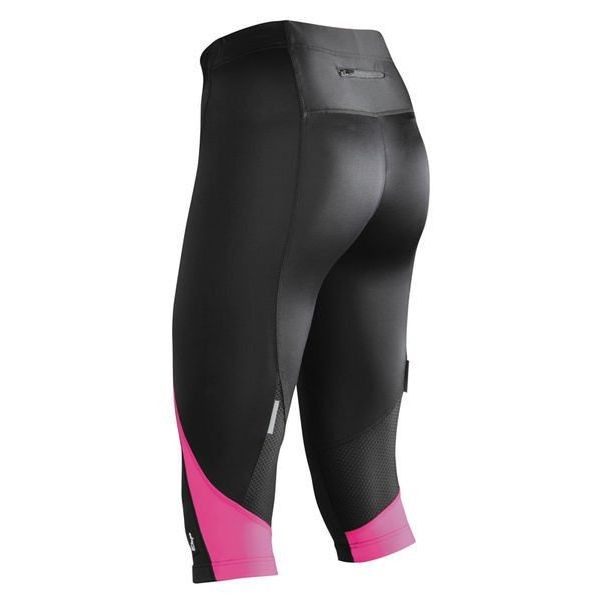 Etape Terry 3/4 tights black/pink