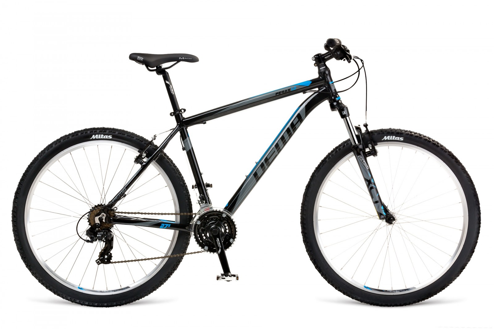 Dema PEGAS 1.0 black/grey/blue