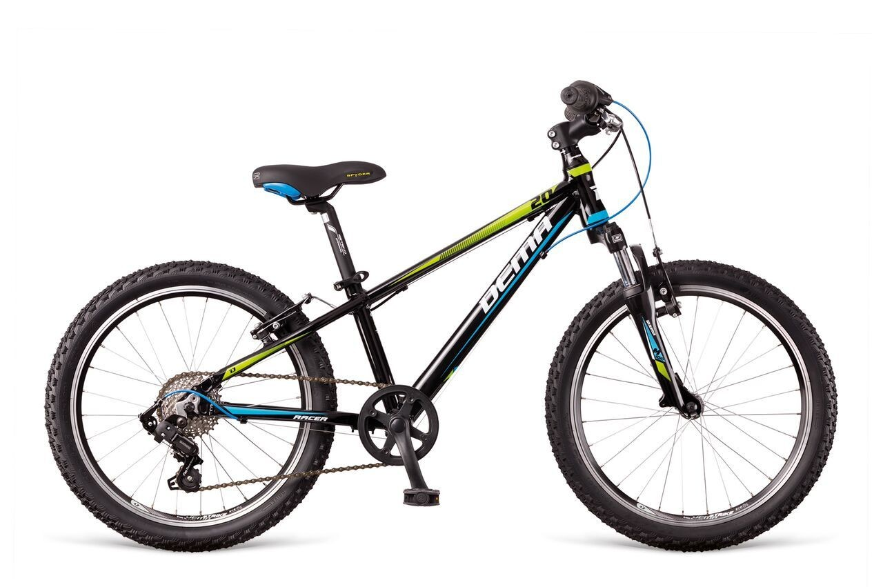 Dema RACER 20'' 7-speed SF black/blue/green