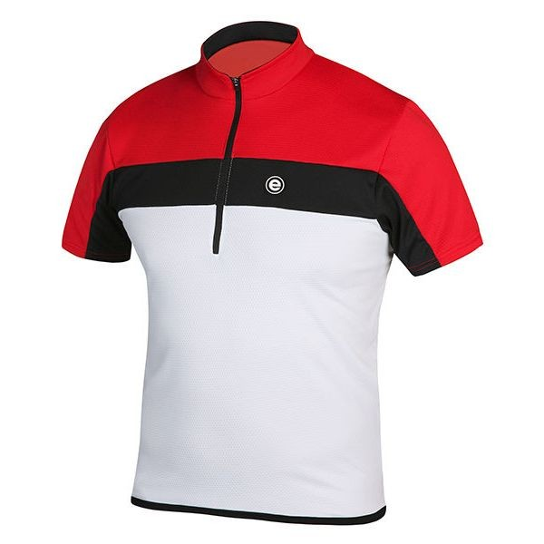 Etape Face shirt white/red