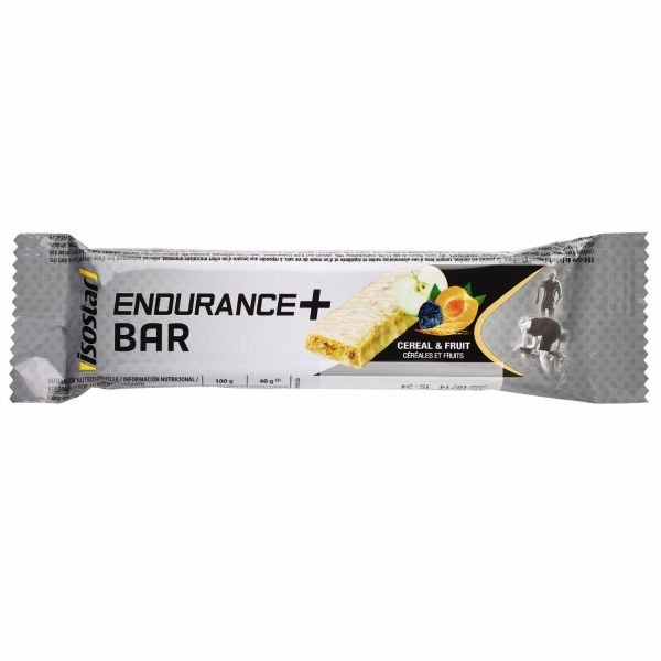 Batoniņš Isostar Endurance plus Cereal & Fruit 40g