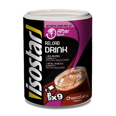 Dzēriens Isostar After Sport Reload Chocolate 450g