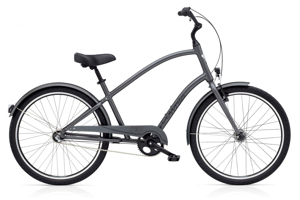 ELECTRA Townie Original 3i EQ men, Satin Graphite