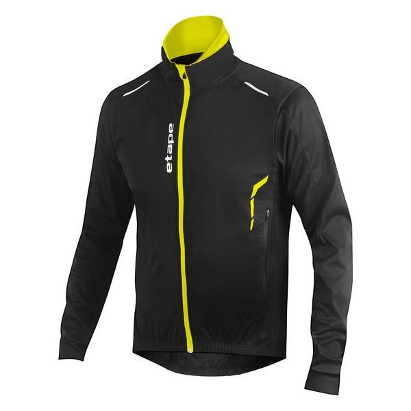Etape Strong WS jacket black/yellow