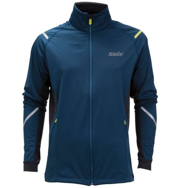 Swix Cross Jacket Mens Blue