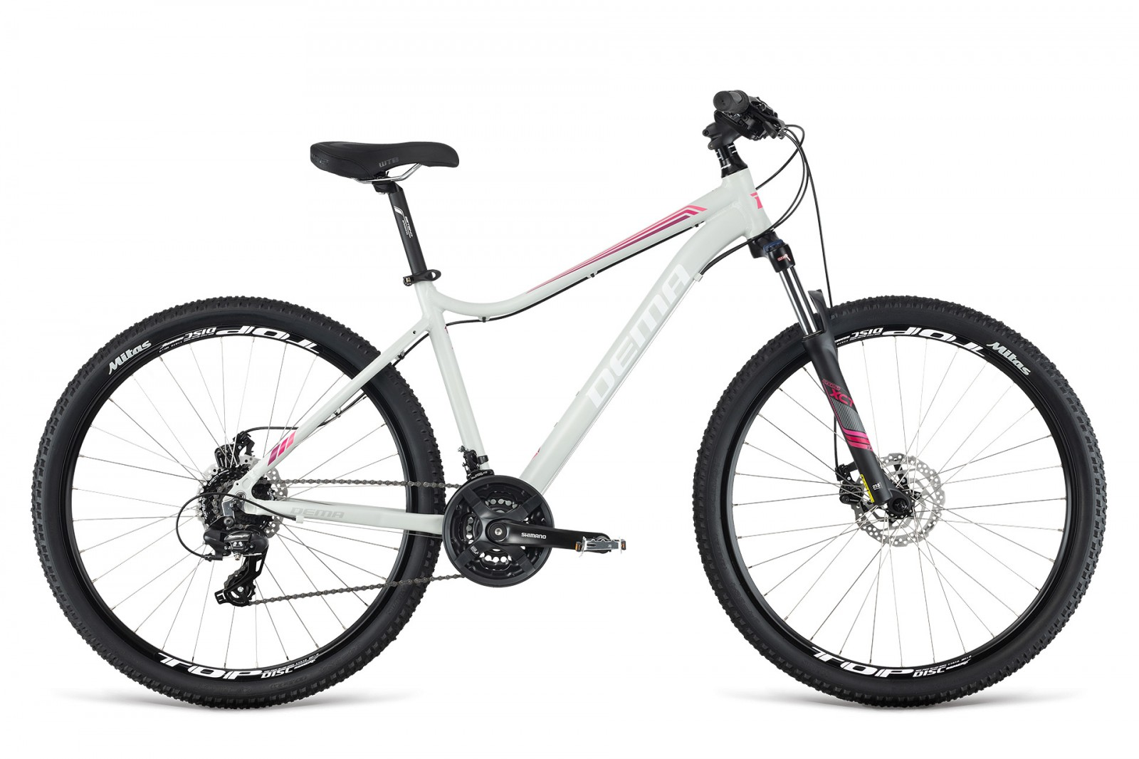 Dema TIGRA 5.0 Lady 2019 light grey/pink 27.5''