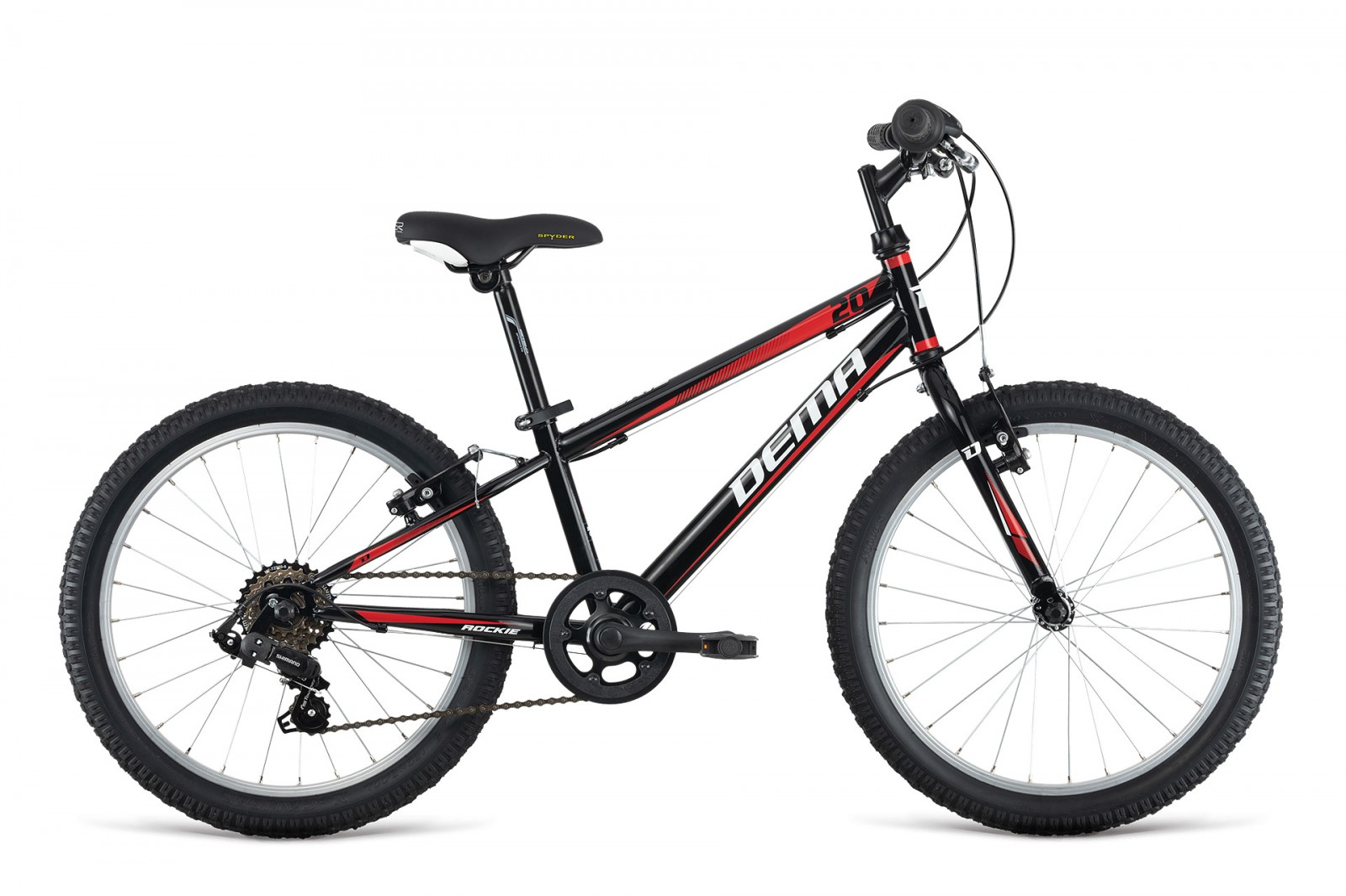 Dema ROCKIE 20'' RF black/red