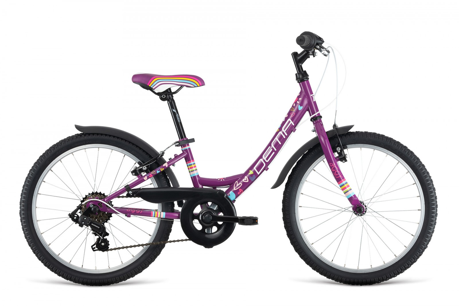 Dema AGGY 20'' 6-speed violet