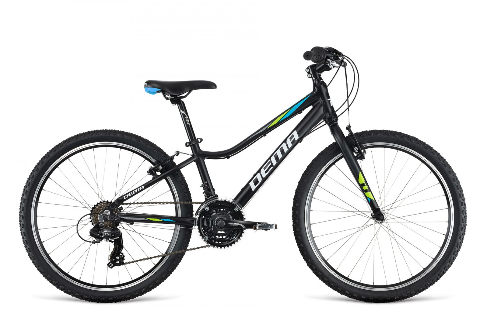 Dema PEGAS 24'' black/blue/green