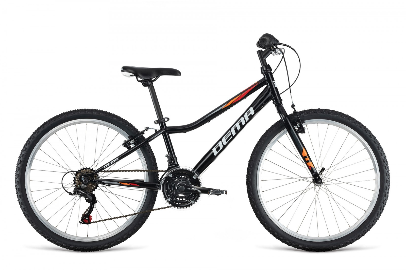 Dema ISEO 24'' black/orange/red