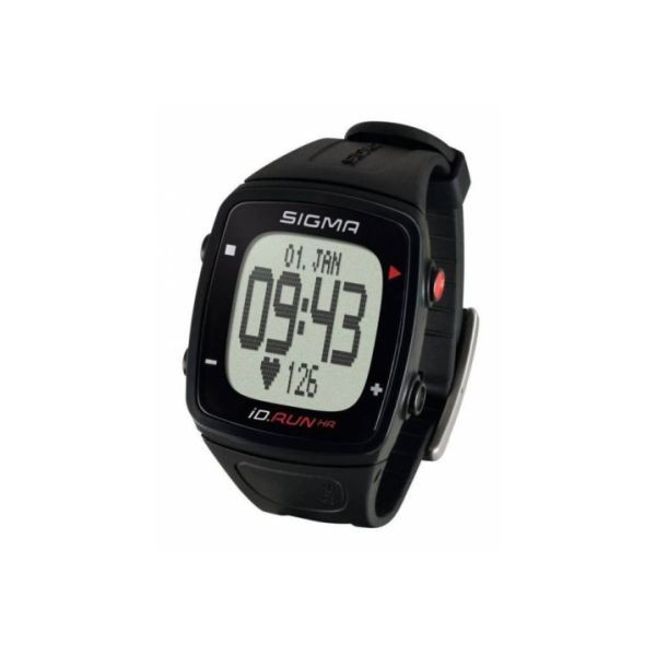 Pulsometrs SIGMA iD.RUN HR GPS black