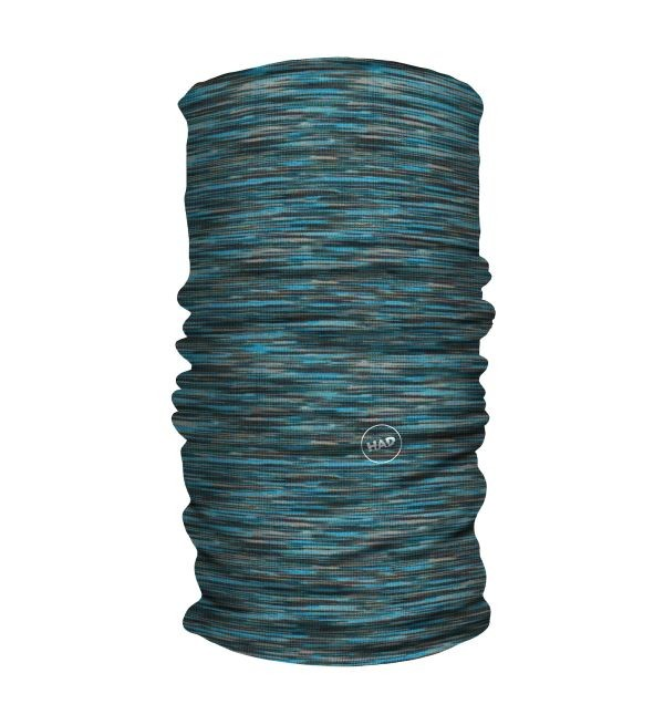 HAD Printed Fleece Tube Multi Blue