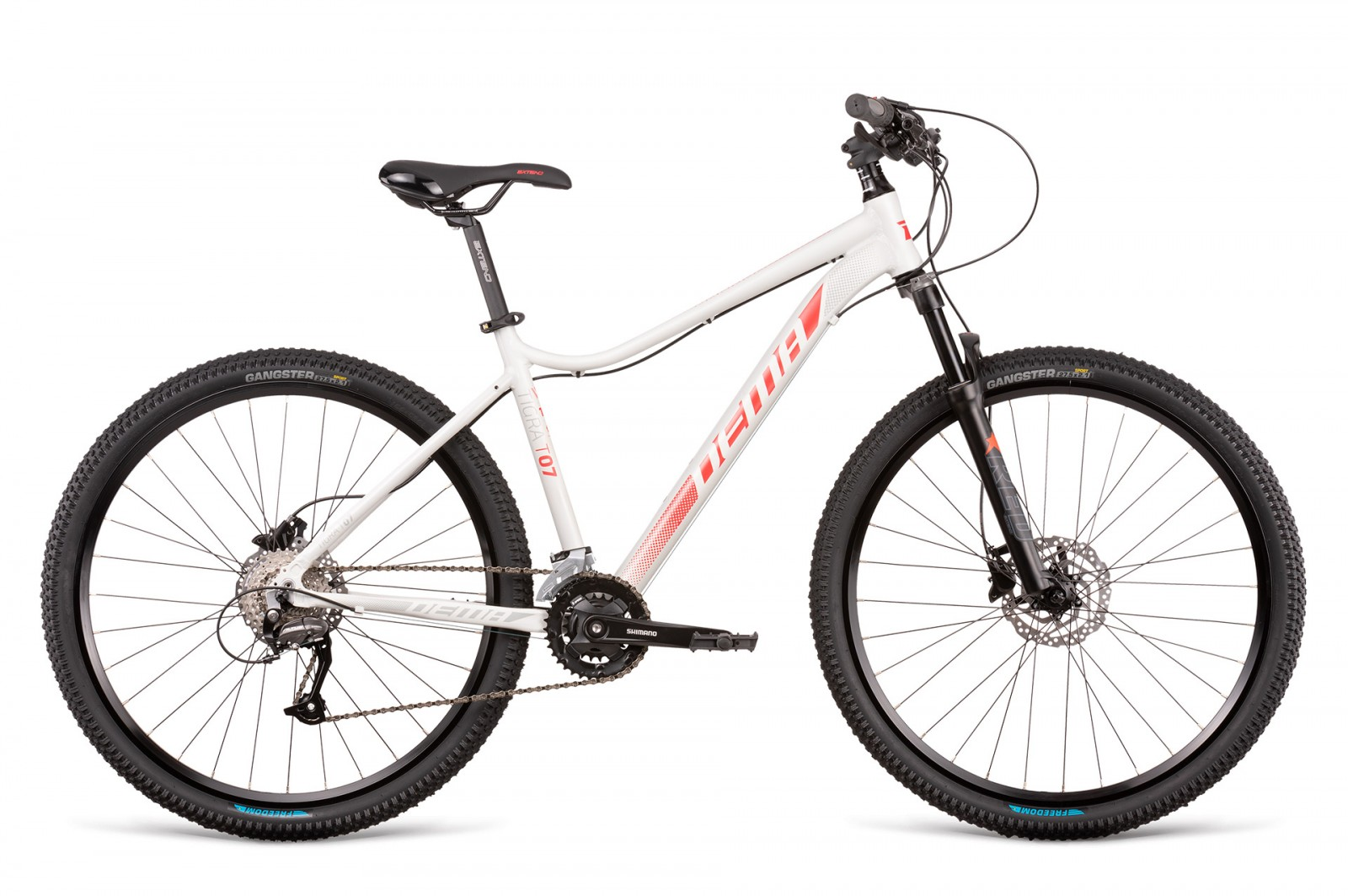 Dema TIGRA 7.0 light grey-red 27.5