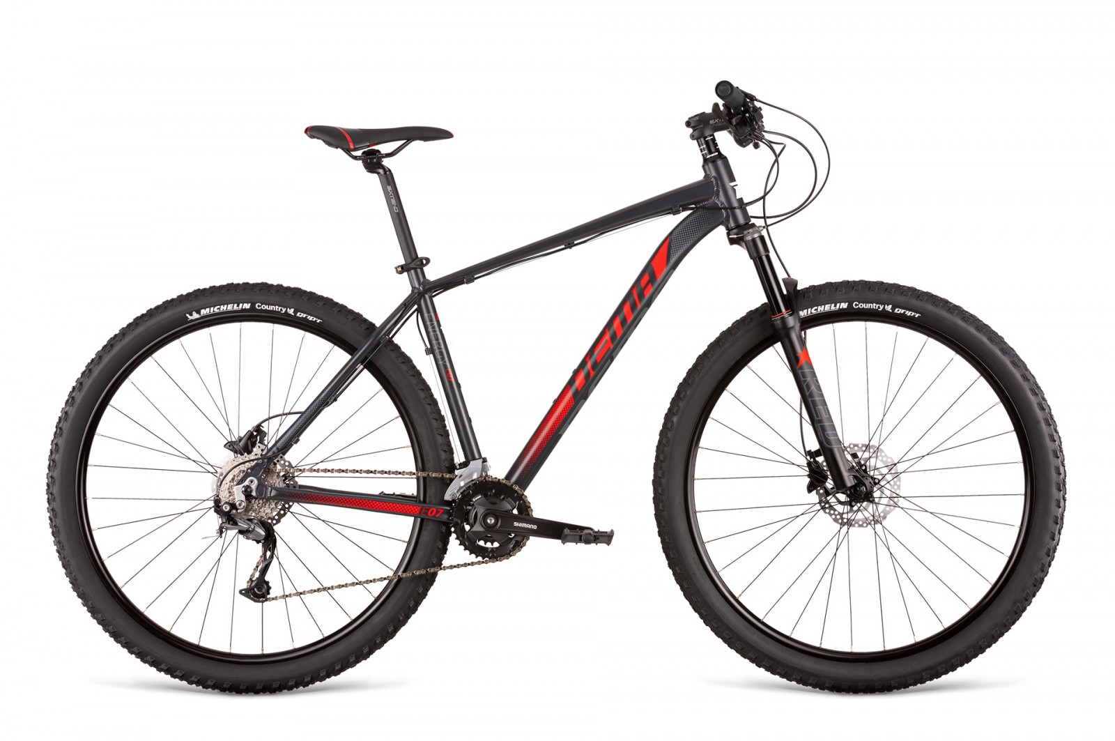 Dema ENERGY 7.0 dark grey-red
