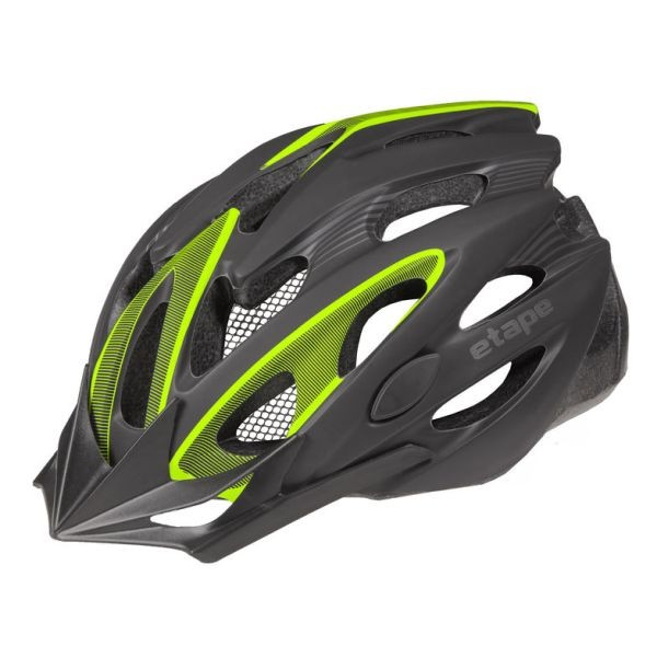 Etape BIKER black matt/yellow fluo