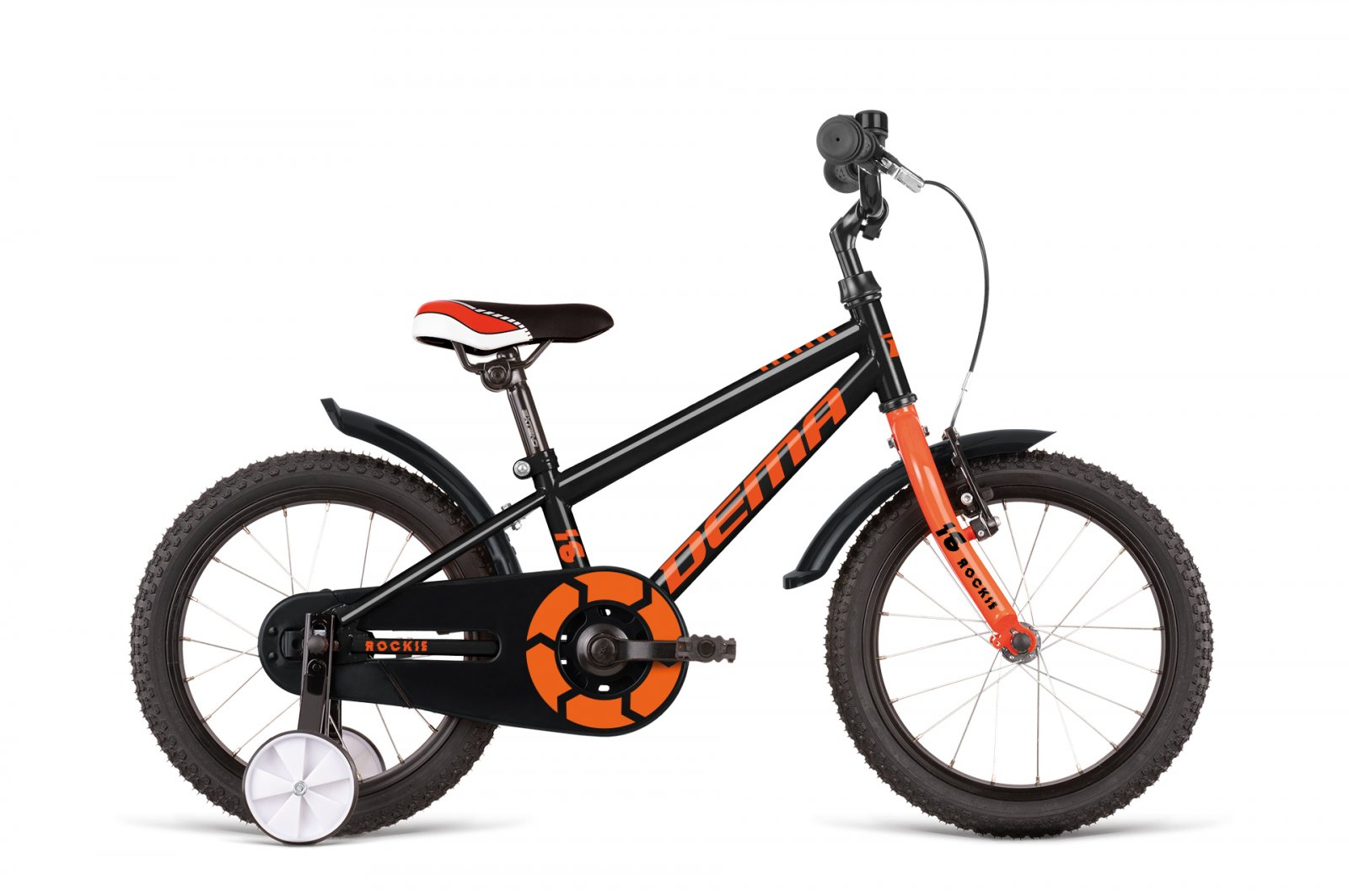 Dema ROCKIE 16 black/orange